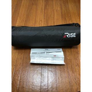 【新品】RISE スリープオアシス 高反発ファイバー モバイルパッド(マットレス)