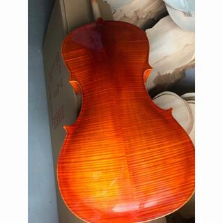 ☆最終日の展示☆ チェロ Cello 4/4 スプルース 級木 弓ケース付(チェロ)