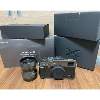 富士フイルム - 【限定】X-Pro2 Graphite Edition XF23mmセット