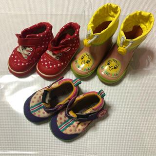 アンパンマン(アンパンマン)のキッズ アンパンマン 靴&長靴 13cm   まとめ売り(長靴/レインシューズ)