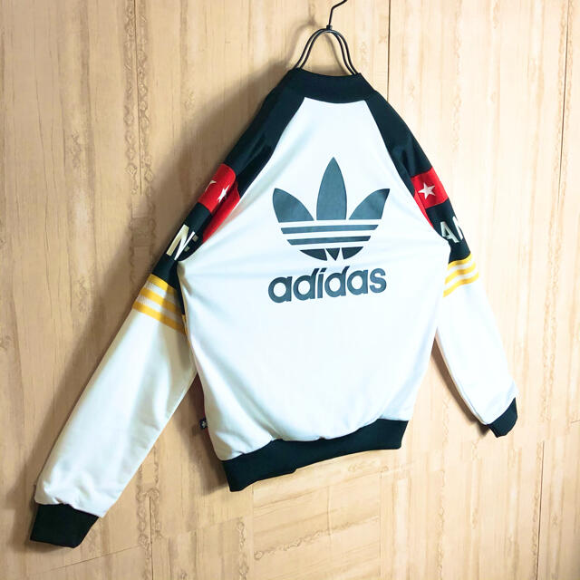 adidas(アディダス)のadidas アディダス ジャージ ブルゾン リタオラ コラボ 大きめ 美品 レディースのジャケット/アウター(ブルゾン)の商品写真
