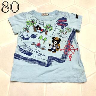 ダブルビー(DOUBLE.B)のミキハウス 80 Tシャツ 半袖(Tシャツ)