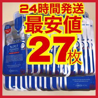27枚 NMFアクアリング メディヒール メディヒル 韓国コスメ ティーツリー(パック/フェイスマスク)