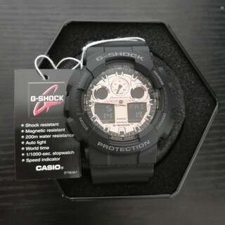 G-SHOCK - 新品 G-SHOCK 腕時計 ブラック メンズ GA-100MMC-1A