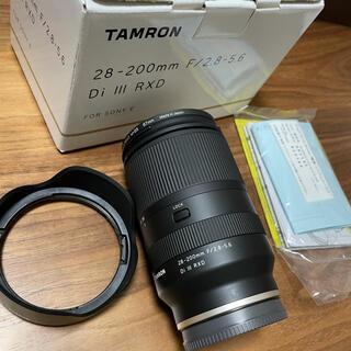 TAMRON - 【おまけ付】TAMRON 28-200mm F/2.8-5.6 Di Ⅲ RXD