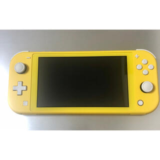 ニンテンドースイッチ(Nintendo Switch)のニンテンドースイッチ ライト lite イエロー 本体(家庭用ゲーム機本体)