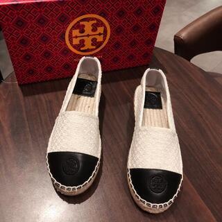 トリーバーチ(Tory Burch)のトリーバーチ お靴  ホワイト(ミュール)