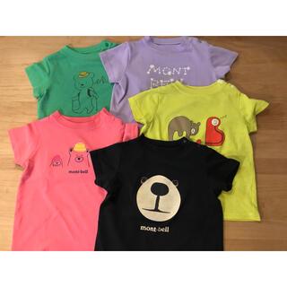 mont bell - モンベル ベビー 80㎝ Tシャツ 5枚セット