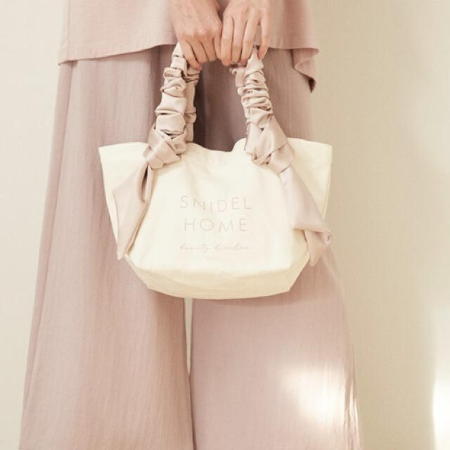 snidel(スナイデル)のスナイデルホーム 新品未開封タグ付き ミニトート レディースのバッグ(トートバッグ)の商品写真