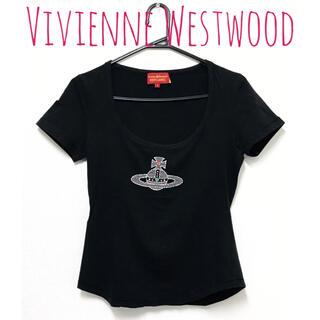 Vivienne Westwood - ヴィヴィアンウエストウッド【美品】オーブ 刺繍 半袖 カットソー トップス