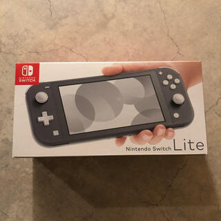 Nintendo Switch - 【即日発送◎】Nintendo Switch Lite グレー