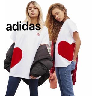 adidas - adidas バレンタイン Tシャツ ユニセックス