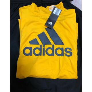 アディダス(adidas)のアディダス  ハイネック ロングスリーブTシャツ(Tシャツ/カットソー(七分/長袖))