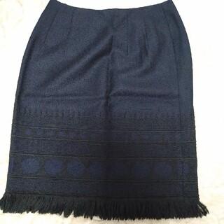 アナイ(ANAYI)のアナイ 刺繍スカート(ひざ丈スカート)