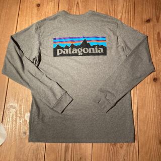 patagonia - patagonia パタゴニア ロンT グレー XS