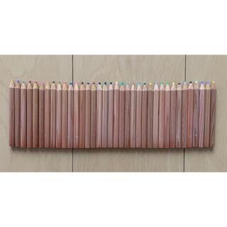 無印良品 色鉛筆 36色 ハーフ 箱なし