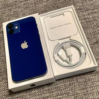 Apple - iPhone12 mini ブルー 256gb SIMフリー 新品未使用同様品