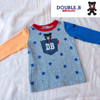 ダブルビー(DOUBLE.B)のDOUBLE.B ダブルB くまロゴロンT(Tシャツ)