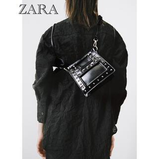 ZARA - 【ZARA】スタッズショルダーバッグ  完売品