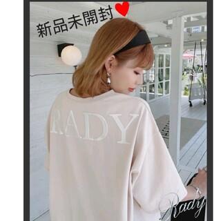 Rady - 【新品】Rady 最新作♡バックロゴTシャツ Mサイズ