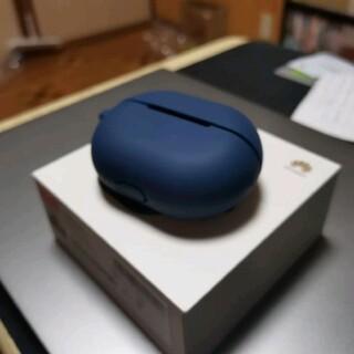 ファーウェイ(HUAWEI)のfreebuds pro ブラック 美品 ケース付き(ヘッドフォン/イヤフォン)