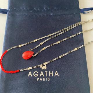アガタ(AGATHA)のAGATHA 2連ネックレス(ネックレス)