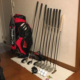 【訳あり】⛳️初心者メンズゴルフ応援豪華11本おまけバッグほか盛り盛り‼️