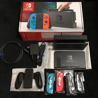 ニンテンドースイッチ(Nintendo Switch)の【美品】switch 旧型 完品(家庭用ゲーム機本体)