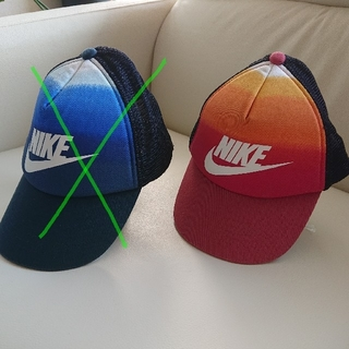 ナイキ(NIKE)の【新品未使用】NIKE キャップ キッズ 43cm(帽子)