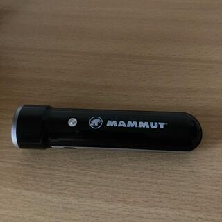 Mammut - マムート LEDライト バッテリー付き