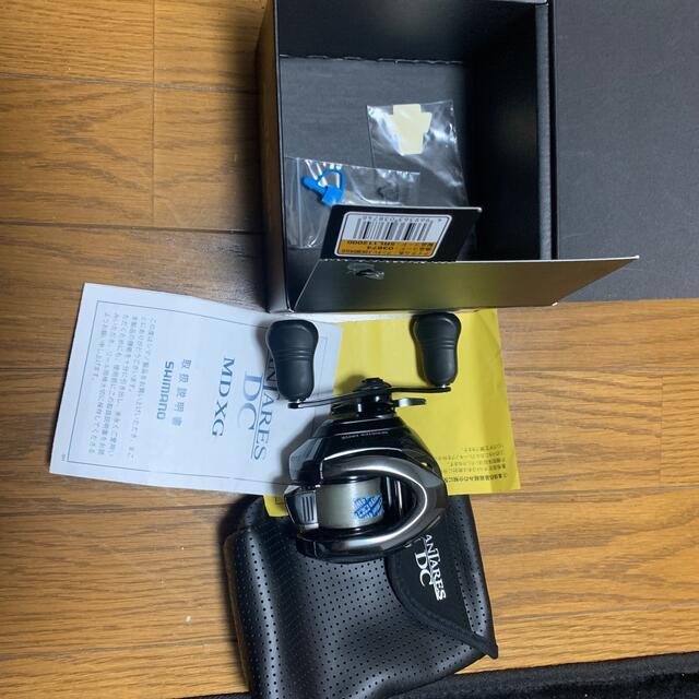 SHIMANO(シマノ)のシマノ アンタレスdcmd レフトハンドル スポーツ/アウトドアのフィッシング(リール)の商品写真