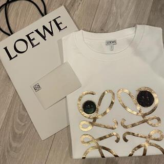 LOEWE - LOEWE アナグラム ブローチ ロゴT Mサイズ