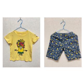 UNIQLO - ユニクロ✖️ミニオン《パンツ+Tシャツ セット》