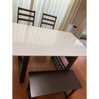 伸長式 ダイニングテーブル セット 椅子 ベンチシート テーブルセット お得
