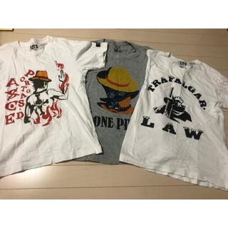 UNIQLO - UNIQLO ONE PIECE コラボTシャツ3枚セット 150 サイズXS