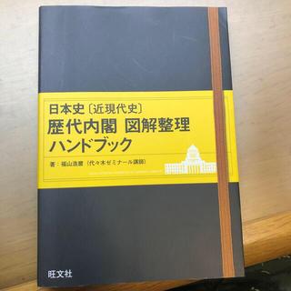 オウブンシャ(旺文社)の日本史「近現代史」歴代内閣図解整理ハンドブック(語学/参考書)