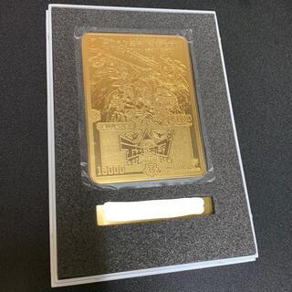 デュエルマスターズ(デュエルマスターズ)のデュエマ 燃える革命ドギラゴン 金プレート(シングルカード)