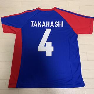 アディダス(adidas)の【美品】 元 FC東京 現 横浜FC 高橋秀人 4 Tシャツ ユニフォーム(応援グッズ)