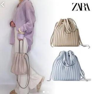 ザラ(ZARA)のZARA 巾着プリーツバック bag(ハンドバッグ)