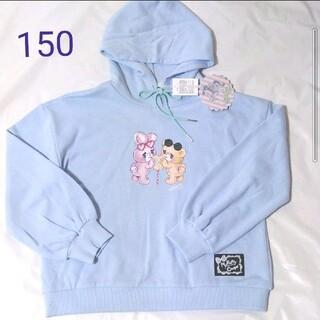 シマムラ(しまむら)のキューガール エコネコ 絵子猫 150 トップス パーカー econeco(Tシャツ/カットソー)
