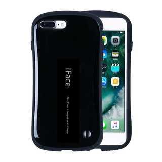 【C31】iFace iPhone7/8Plus (黒)スマートフォンケース