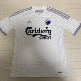 アディダス(adidas)の【良品】 adidas FCコペンハーゲン ユニフォーム Tシャツ 4Lサイズ(ウェア)
