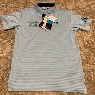 カッターアンドバック(CUTTER & BUCK)の新品未使用 CUTTER&BUCK  ゴルフポロシャツ Lサイズ(ウエア)