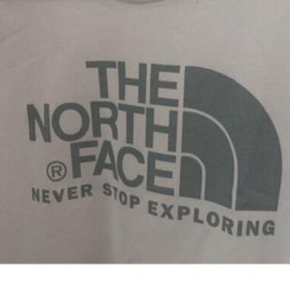 THE NORTH FACE - 【日本製】ノースフェイス ロゴT 白メンズS相当(レディスL)NTW31208