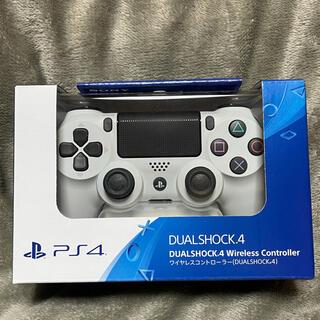 PlayStation4 - PS4 ワイヤレスコントローラー 純正 デュアルショック4 新品 ホワイト 白