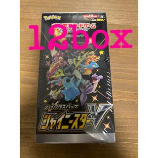 ポケモン(ポケモン)のシャイニースター 12box(Box/デッキ/パック)