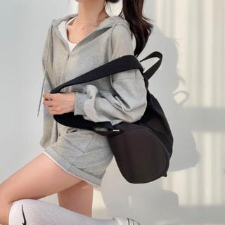 dholic - 【予約商品】《3カラー》フード スエット ジャンプスーツ 韓国ファッション