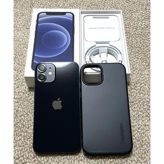 iPhone - 【クーポンでお得】iPhone 12 mini black 128GB 美品