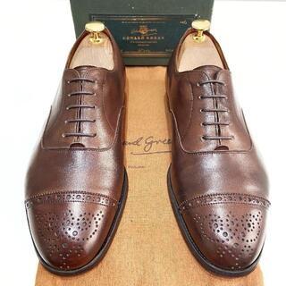 エドワードグリーン(EDWARD GREEN)の◎名作【Edward Green】UK6 ビジネスシューズ 革靴 ストレート(ドレス/ビジネス)
