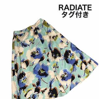 SCOT CLUB - タグ付き【スカート】スコットクラブ ラディエイト 花柄 RADIATE   花柄
